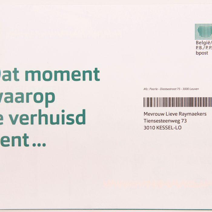 Pearle - targeting - Direct Mail - envelope