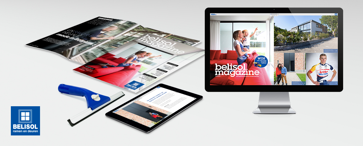 Belisol magazine - content marketing case
