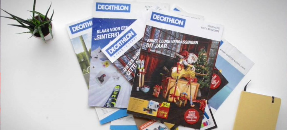 Decathlon catalogus - content marketing case