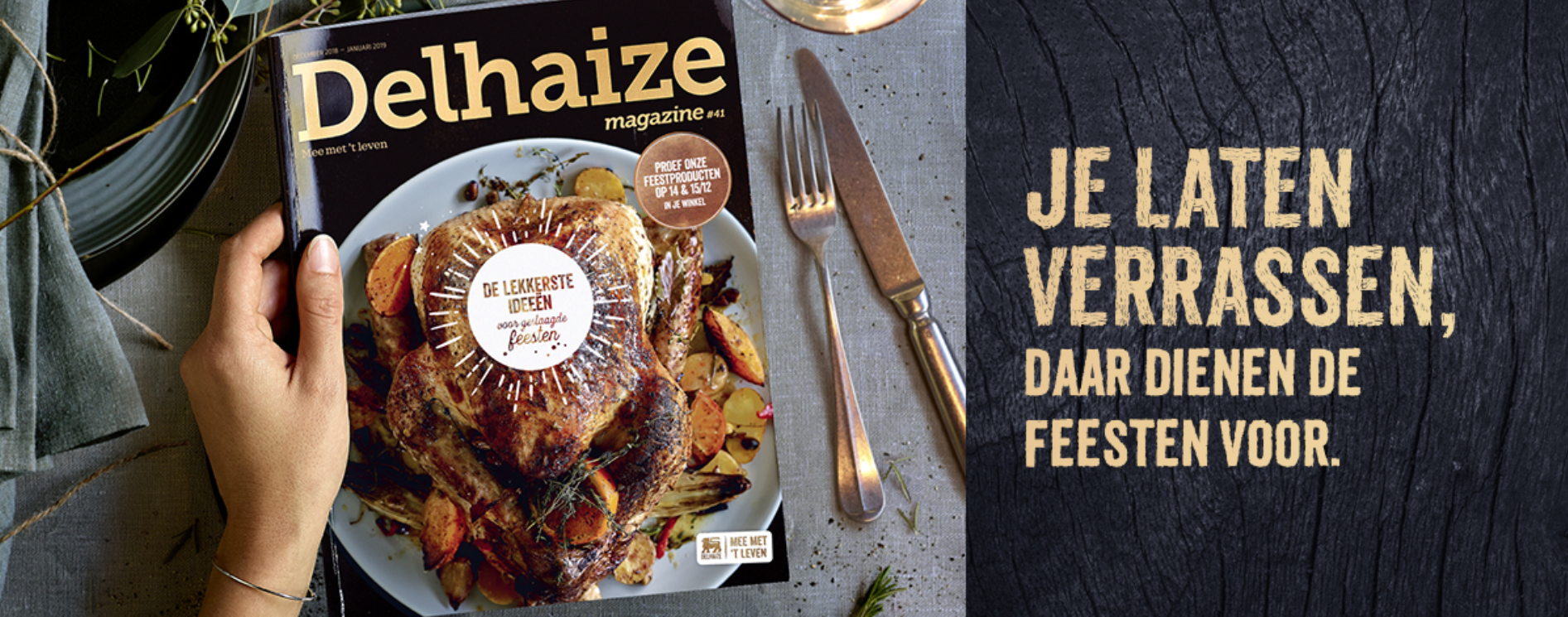 Dehaize feestmagazine - content marketing case