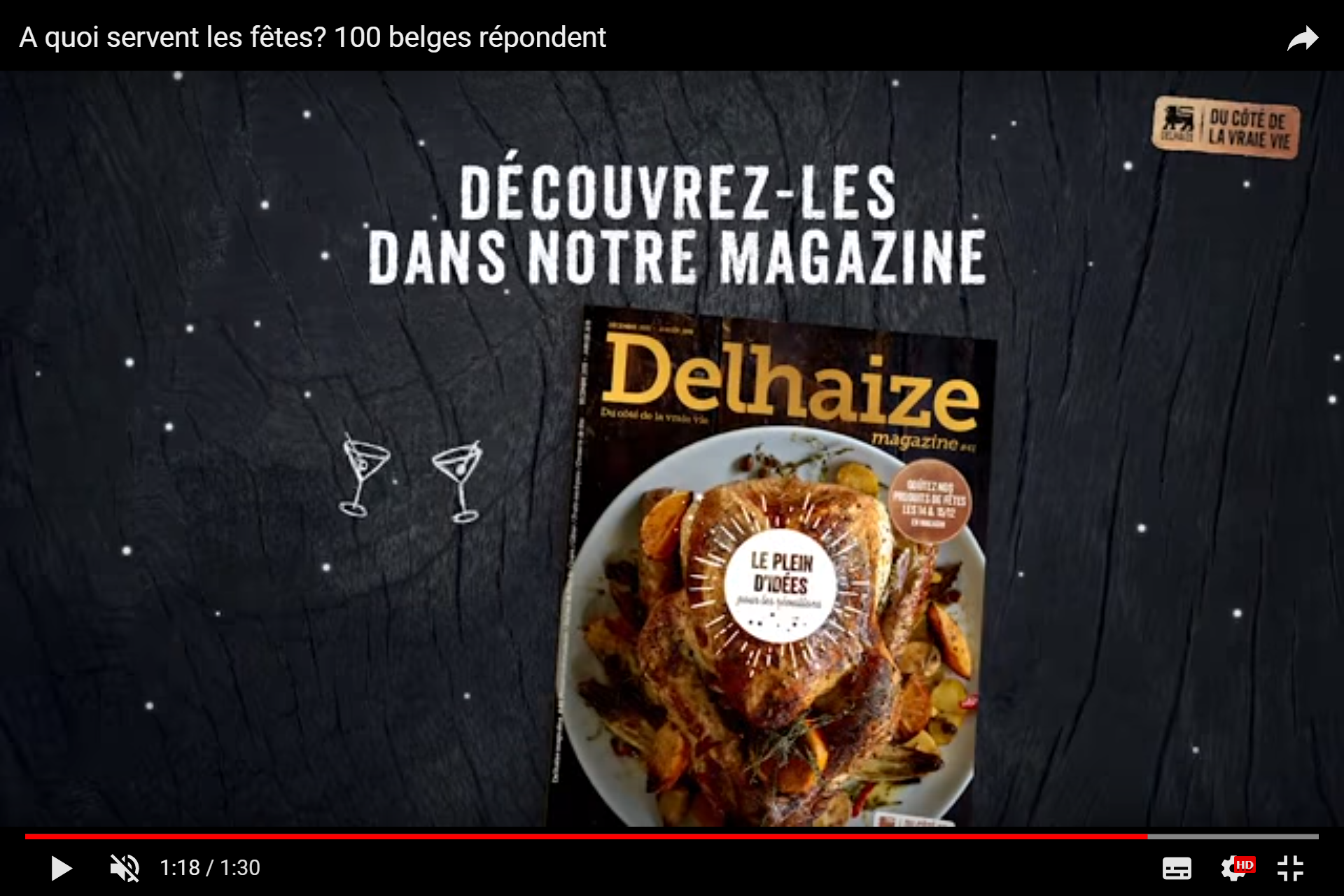 Delhaize - tv spot - End of year magazine