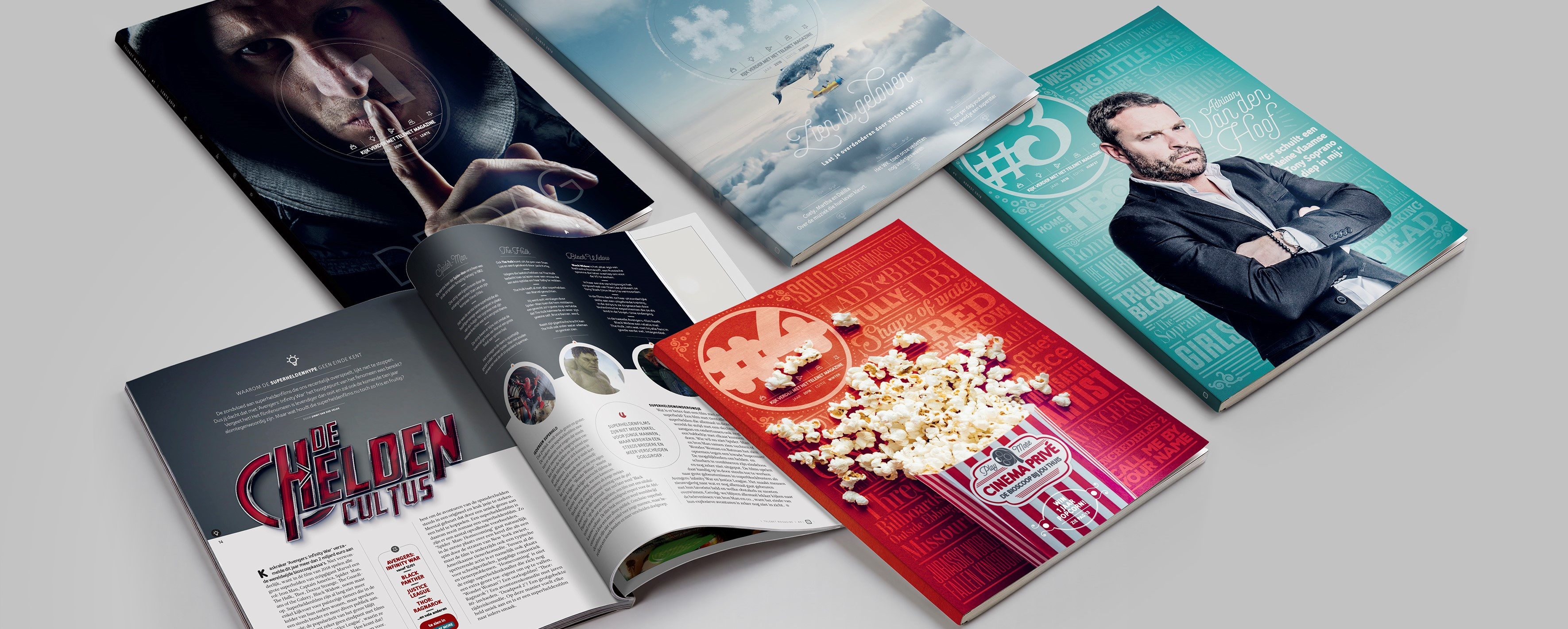 Telenet magazine - content marketing case