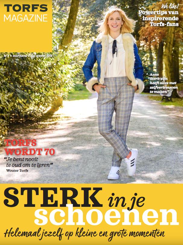 Content marketing - Torfs magazine