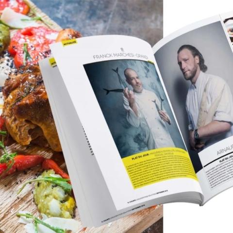 Unilever food solutions magazine - Op smaak - inside
