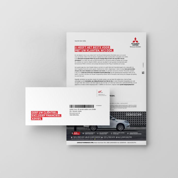 Mitsubishi-targeting-Direct Mail-1