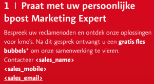 Personalisation-DirectMail-accountmanager
