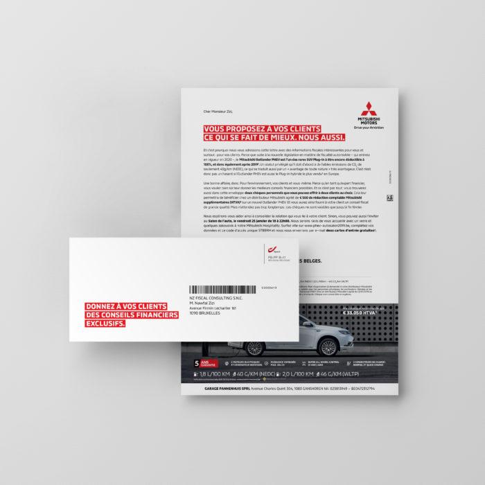 Mitsubishi-targeting-Direct Mail-2