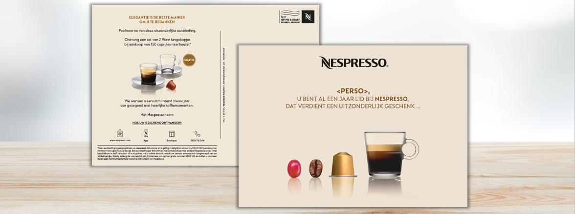 Nespresso-birthday-client-relationship-postcard