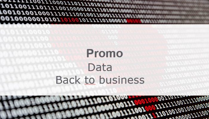 promo data back to business