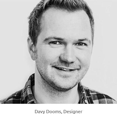 Davy Dooms, Designer